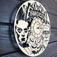 Деревянные настенные часы «Франкенштейн», фото 1