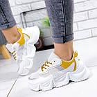 Женские белые кроссовки, из текстиля/эко кожи 41 ПОСЛЕДНИЙ РАЗМЕР, фото 10