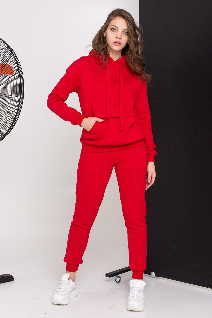 Прогулочный костюм Бруклин красный