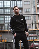 Демисезонный спортивный  костюм ADIDAS X PALACE черный