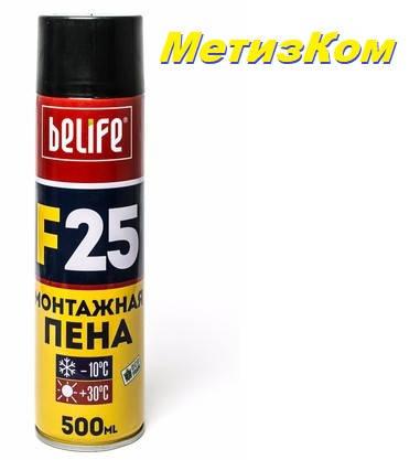 Побутова монтажна піна Belife-F25, фото 2
