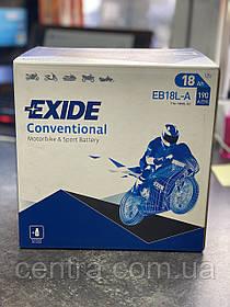 Мото аккумулятор EXIDE EB18L-A