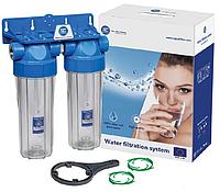 Корпус фильтра для холодной воды Aquafilter FHPRCL34-B-TWIN