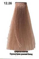 Краска для волос You look Professional 60 мл №12.26 суперосветляющий перламутрово-розовый блонд (спецблонд), фото 1