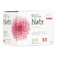 Органические тампоны Eco by Naty Super Plus 15 шт