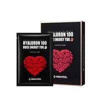 Тканевая детокс-маска с экстрактом розы Medi-Peel Hyaluron 100 Rose Energy Tox