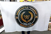 Флаги для спортивных секций (печать логотипа)