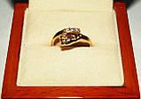 Кольцо  женское золотое Ножка Малыша КЦ-20 Б, фото 8