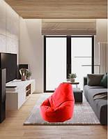 Кресло мешок пуфф мешок чехол кресло мягкое кресло мешок 80 на 120 см Ткань оксворд 600д. Без наполнителя