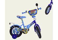 Детский двухколесный велосипед колеса 12 дюймов 181222 Щенячий патруль Голубой