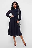 Шифоновое платье миди с пышной юбкой, фото 1