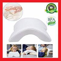 Ортопедическая подушка туннель Pressure Free Memory Pillow, фото 1