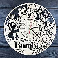 Детские настенные часы из дерева «Бэмби», фото 1