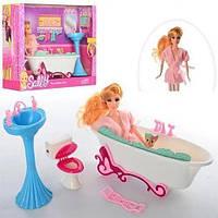 """Ванная комната для кукол, игровой набор """"Кукла в ванной комнате""""  68040"""