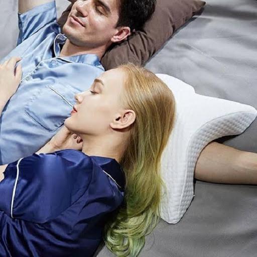 Pressure Free Memory Pillow Ортопедическая подушка туннель
