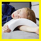 Pressure Free Memory Pillow Ортопедическая подушка туннель, фото 2