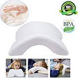 Pressure Free Memory Pillow Ортопедическая подушка туннель, фото 8