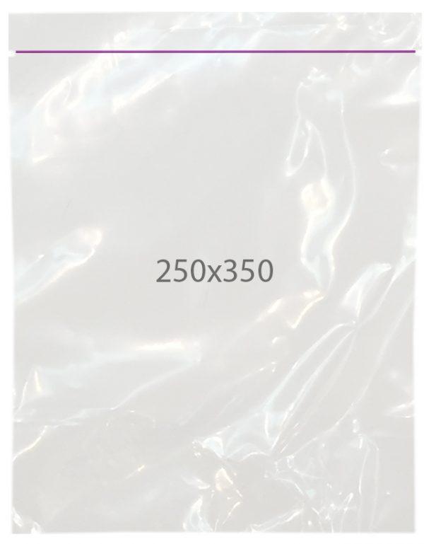Пакеты полиэтиленовые с замком zip 250х350, упаковка — 100 шт.