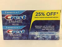Зубная паста отбеливающая, Crest 3D White, Arctic Fresh Icy Cool Mint, 150 g