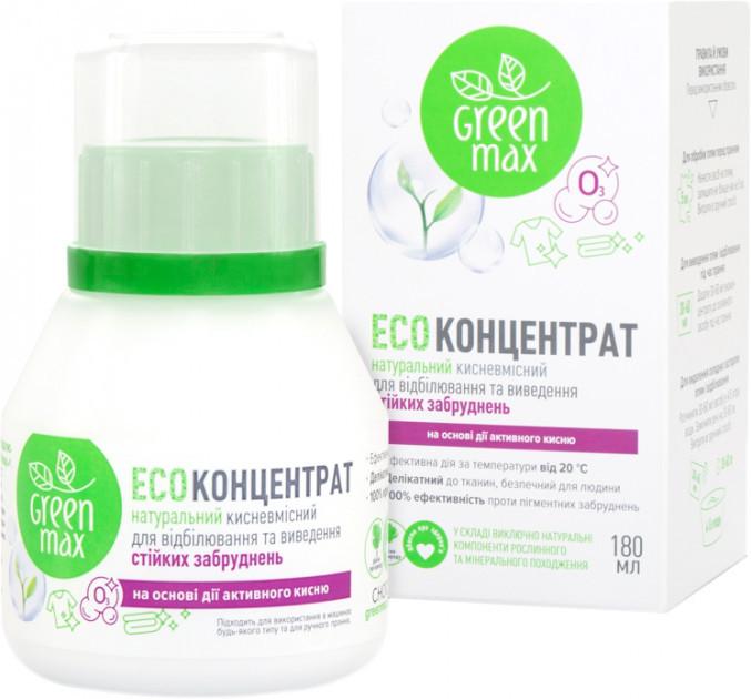 ЭКО Средство натуральное для отбеливания, 180 мл, Green Max