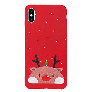 Чехол накладка xCase на iPhone XR Christmas Holidays №2
