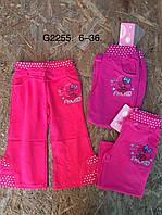 Спортивные штаны для девочек оптом, Grace, 6-36 мес,  № G2255