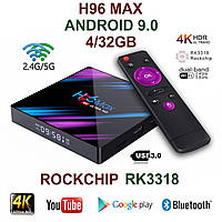 TV-Приставка H96 Max 4GB/32GB ROCKCHIP RK3318 (Android Smart TV Box)