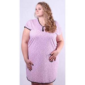 Сорочка для сна разных цветов большого размера 52-66 р