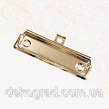 Механизм зажима 100х30мм серебро глянец