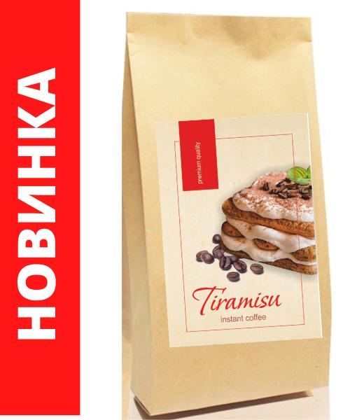 "Тирамису растворимый кофе 500 г. ТМ ""Premium Quality"""