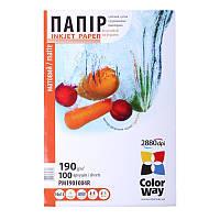 Папір 10*15 100л матовий 190г/м2 PM190-100 ColorWay