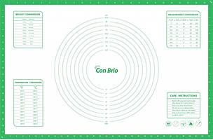 Силіконовий килимок 43,5х66,5 см Con Brio CB-679