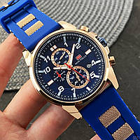 Часы мужские кварцевые Mini Focus MF0268G.01 Blue-Cuprum-Blue AB-1095-0031