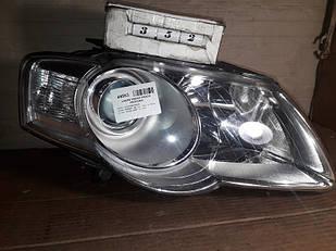 №352 Б/у фара правая 3C0941006T для  VW Passat B6 2005-2010