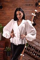 Эффектная женская блуза с пышными рукавами Daria