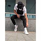 Карго штаны Пушка Огонь Angry Zipp черный весна-осень XL, фото 4