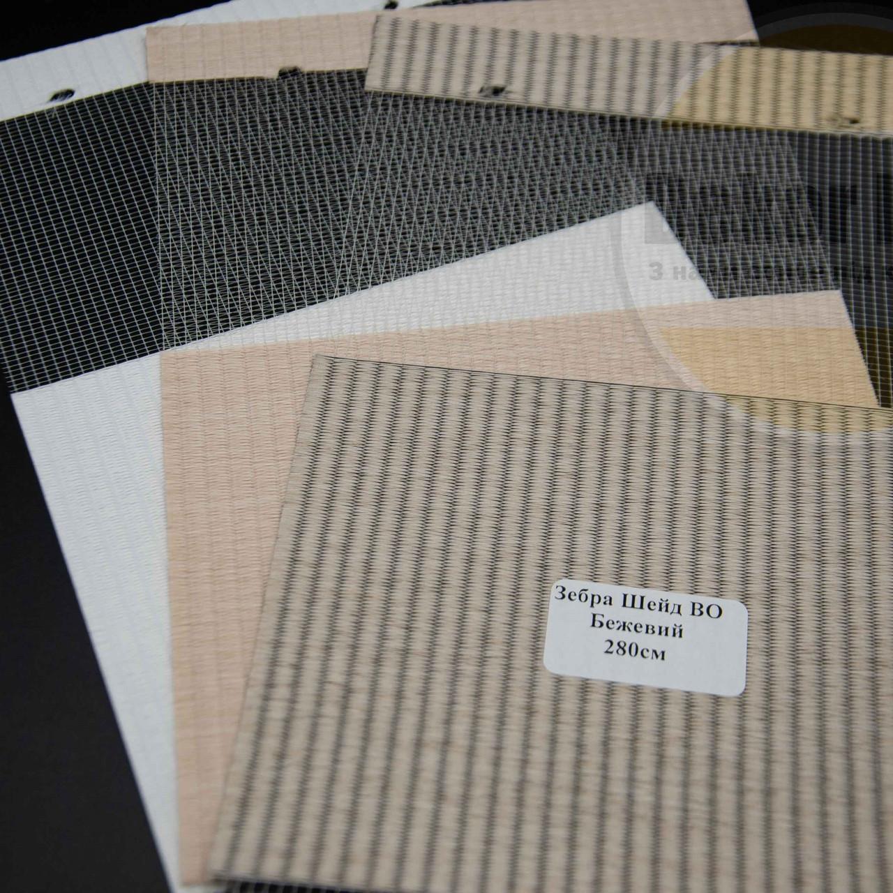 Рулонні штори День-Ніч Зебра Шейд ВО (3 варіанта кольору)