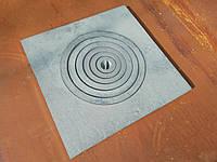 Плита чугунная для казана 600*600 мм ТОЛСТАЯ (39 кг) / Плита чавунна до казана 600*600 мм ТОВСТА (39кг)