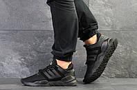 Мужские кроссовки черные Adidas Equipment реплика