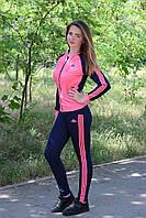 Спортивный костюм для девочек в школу модный двунитка 7141 Zeta-m
