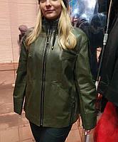Кожаная куртка женская ТУРЦИЯ