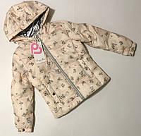 Куртка Весна-Осень для девочек 3-8 лет