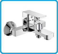Смеситель для ванной латунный литой HB Kubus euro