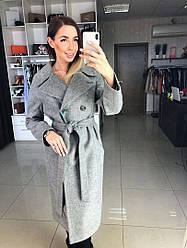 """Демисезонное пальто """"Жасмин"""" , ткань: шерсть.Размер: 42,44,46,48, 50,52  Цвета разные  (1279)"""