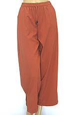Жіночі широкі брюки на резинці, фото 3