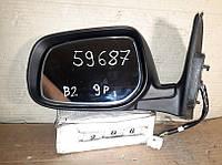 №206  Б/у зеркало боковое левое для Toyota Avensis T25  2005-2009