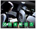 ПЛАФОН / СВЕТИЛЬНИК / ЛАМПА для салона авто + магнитное крепление, цвет свечения белый + USB зарядка, серый, фото 5