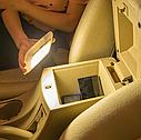 ПЛАФОН / СВЕТИЛЬНИК / ЛАМПА для салона авто + магнитное крепление, цвет свечения белый + USB зарядка, серый, фото 7