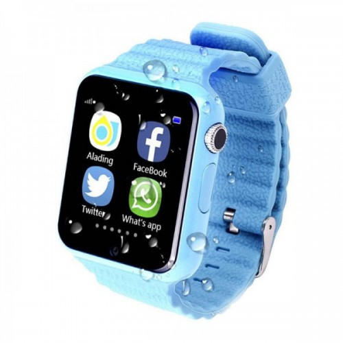Smart Watch V7K- Light Blue