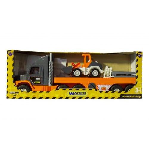 Super Tech Truck  С Бульдозером 36720
